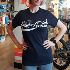 ENJOY CALDERFORNIA BLACK TEE