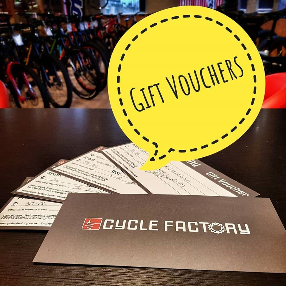 CYCLE FACTORY GIFT VOUCHER