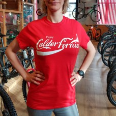 ENJOY CALDERFORNIA RED TEE